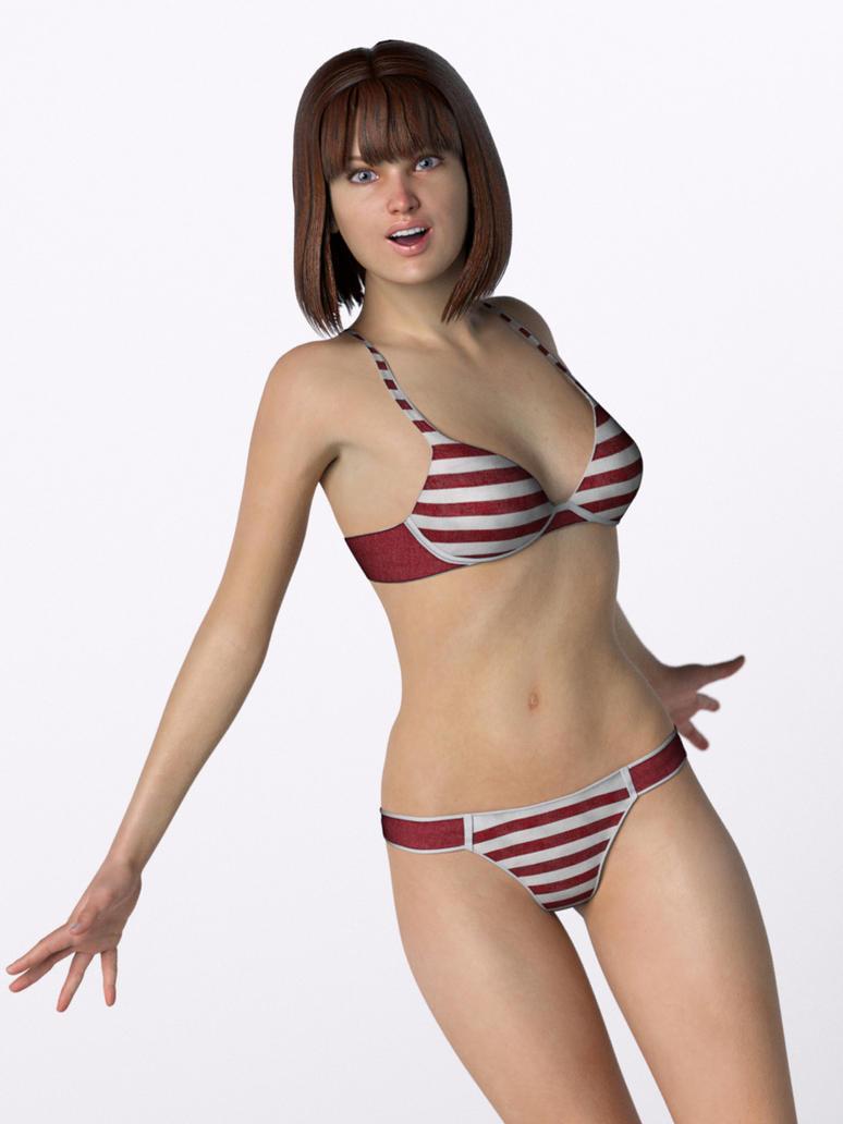 Bikini Girl Bree by myvirtuallady