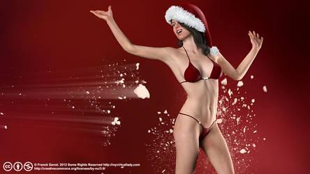Santa Girl Michelle by myvirtuallady