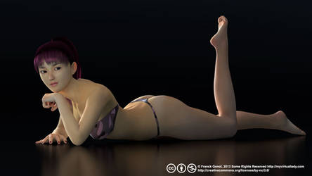 Anime Babe Aiko 5 by myvirtuallady