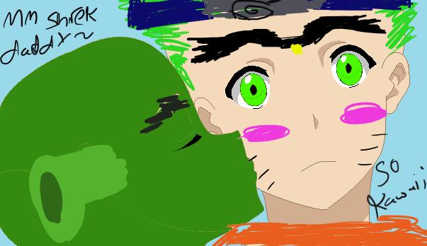 Shrek x Genji (joke art obviously) by BlockKat