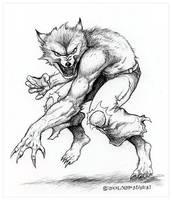 Werewolf by Gravedust