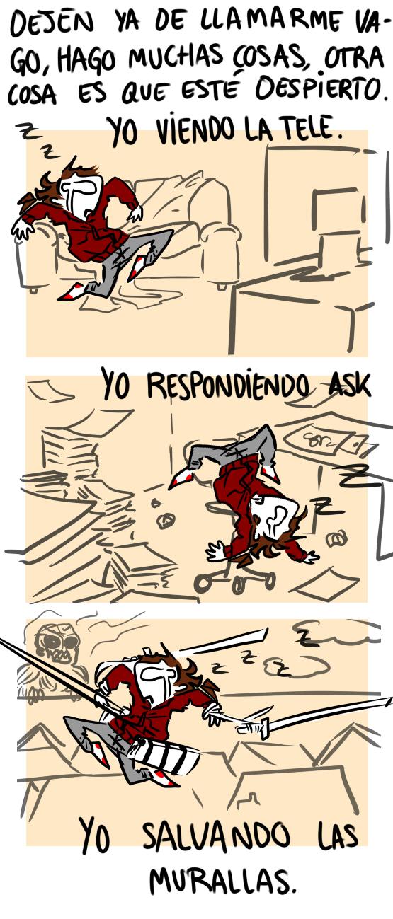 Comic About Me by EIATarek