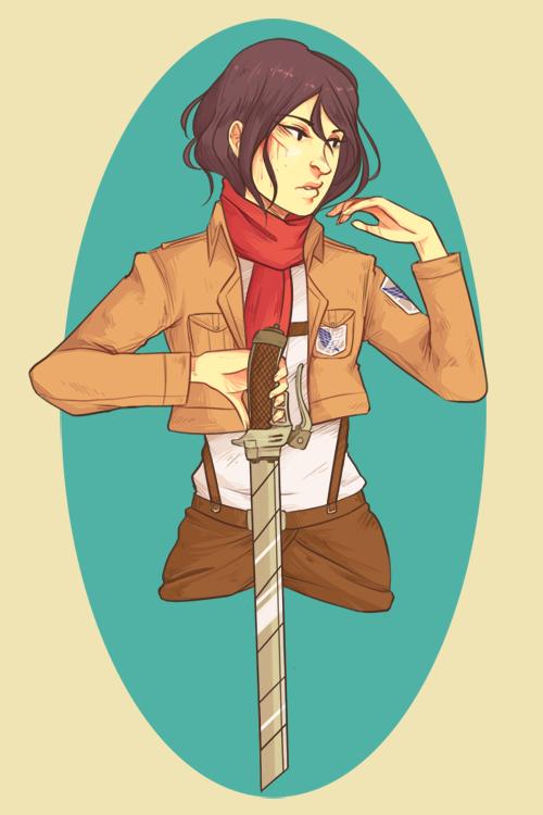 Mikasa Ackerman By Radios On Deviantart