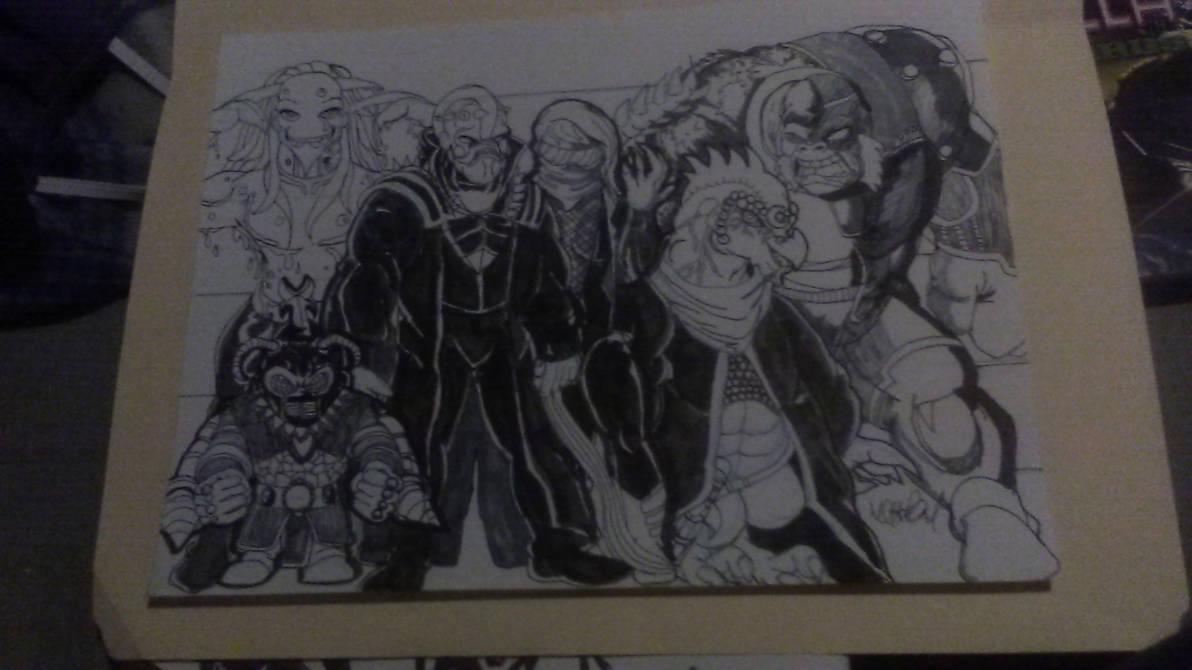 RWBY: Age of Titans. Aliens