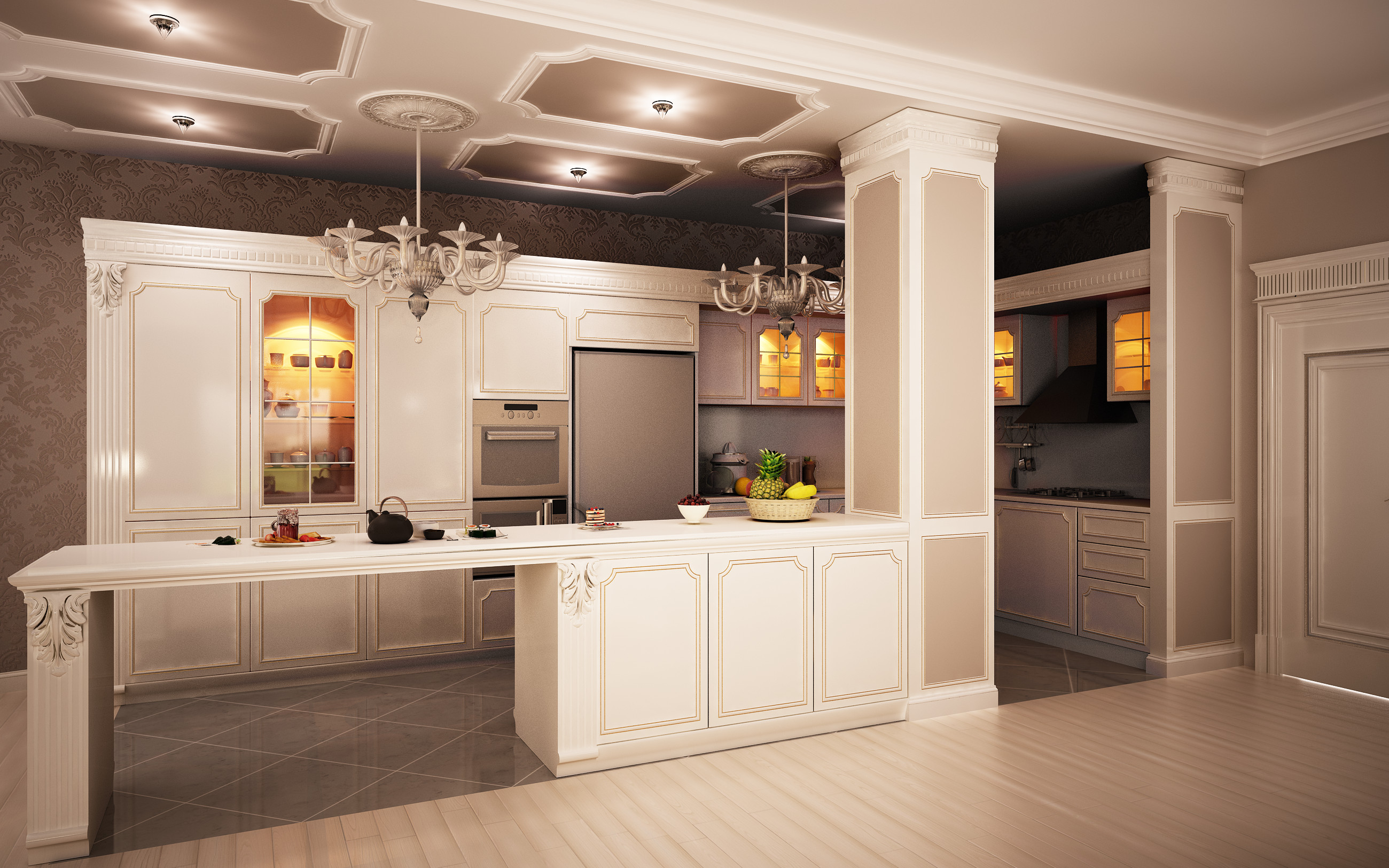 Classic Kitchen Classic Kitchen 1 By Murataral On Deviantart