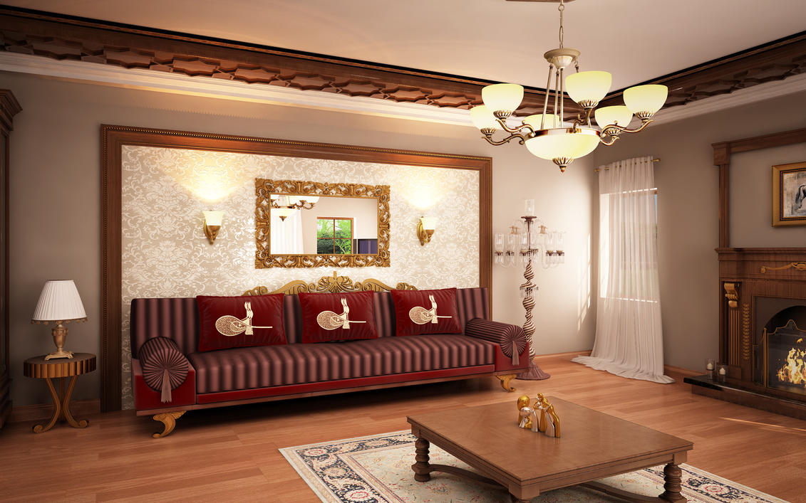 classic living room 03 by murataral on deviantart