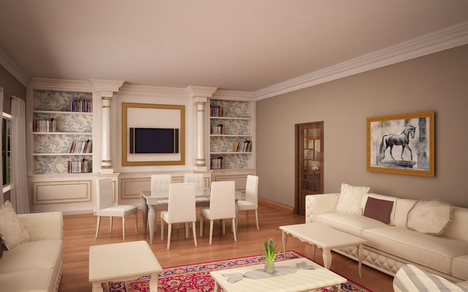 classic living room 07 by murataral on deviantart