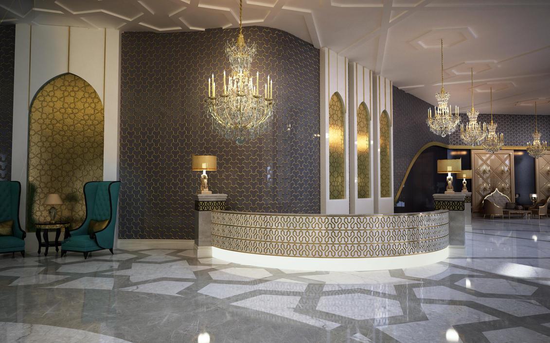 Burk hotel lobby by murataral on deviantart for Hotel design uk