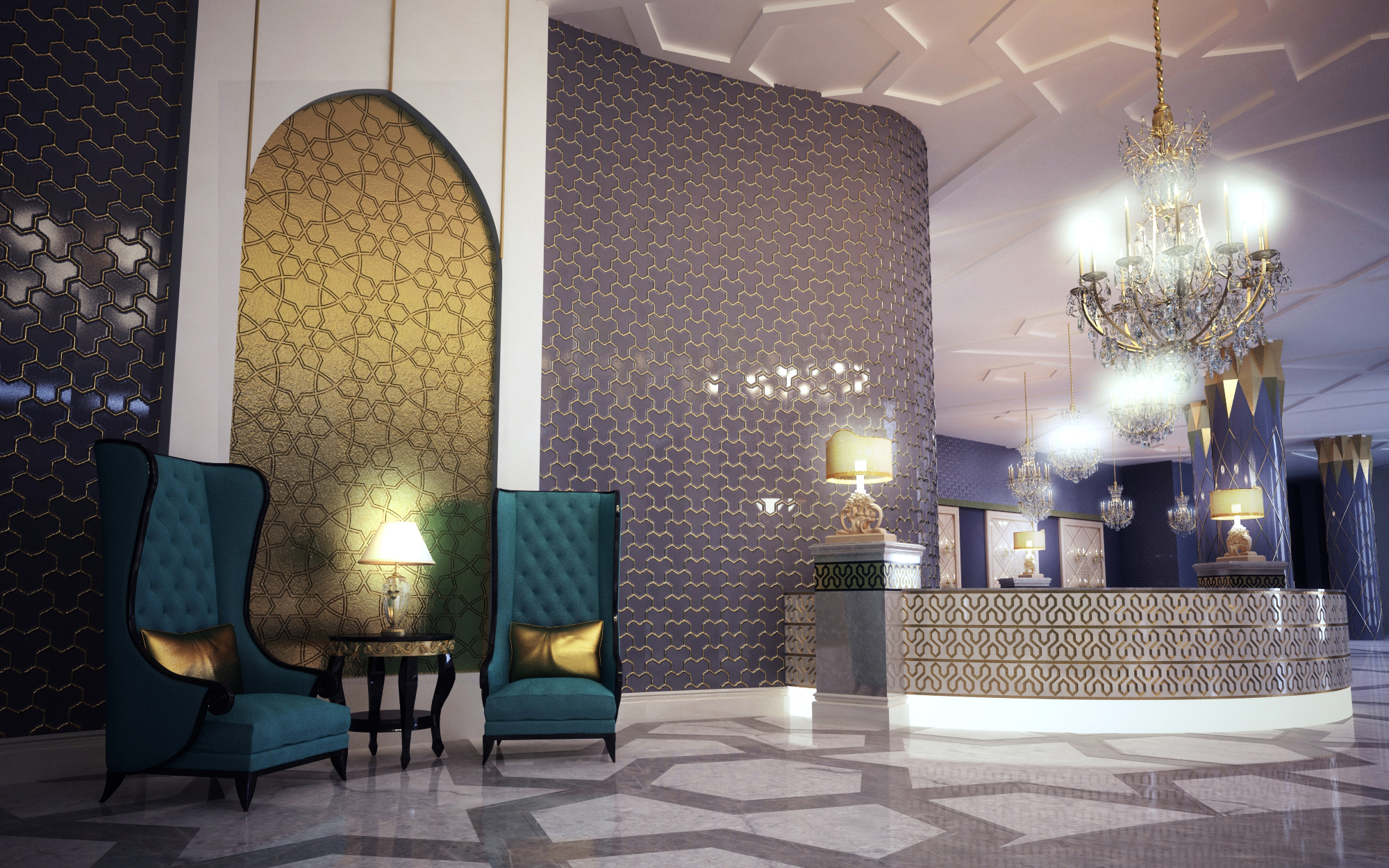 Burk Hotel Lobby 02 By Murataral On Deviantart