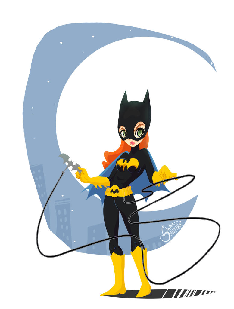 Batgirl by LauraSantana