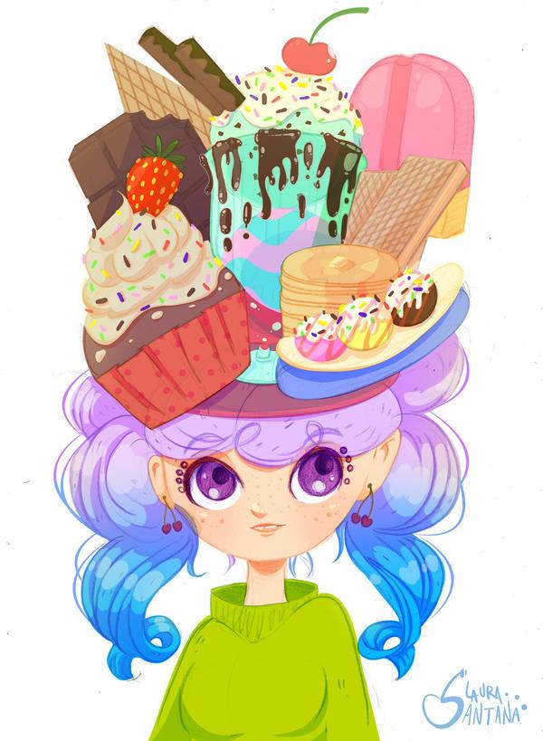 Too much sugar girl by LauraSantana