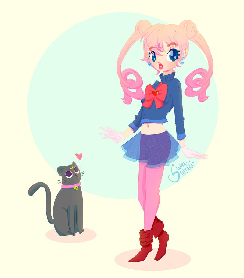Sailor moon by LauraSantana