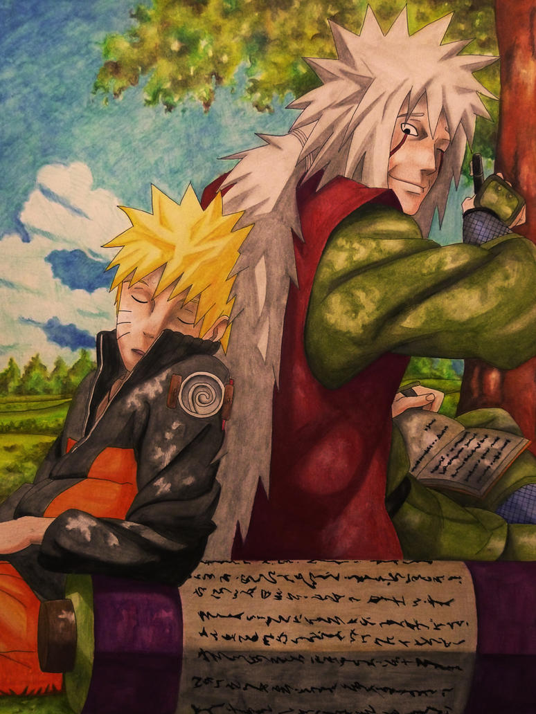 El cuento de Jiraiya el galante by Wolfofshiver