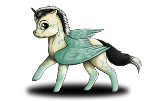 On my way - Chibi Commission by Saerl