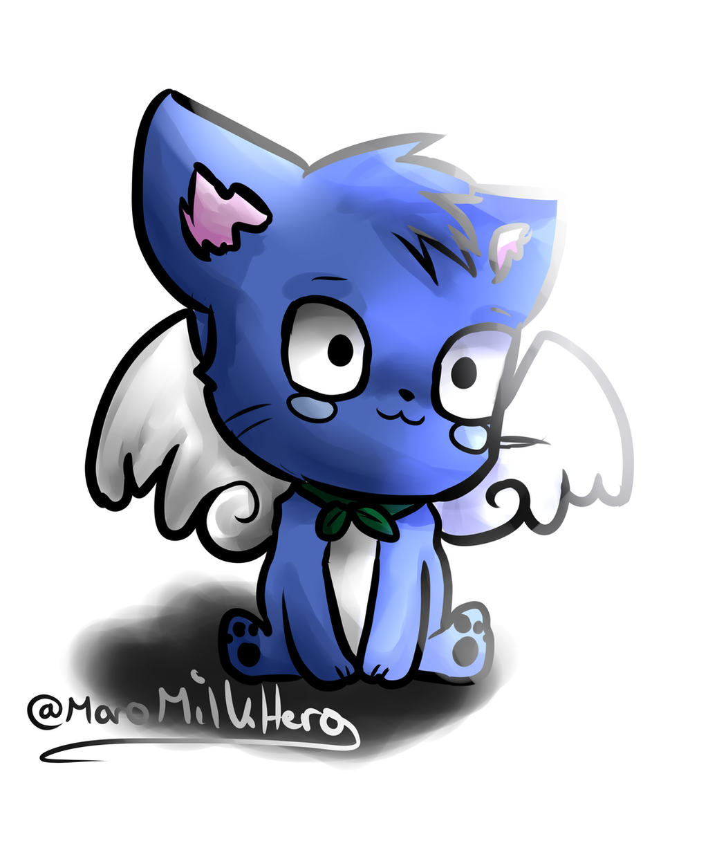 Fairy Tail - Chibi-Happy by MaroMilkHero on DeviantArt  Fairy Tail - Ch...