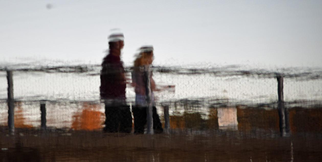 Couple On Bridge by mtsofan