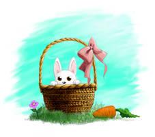 BunnyBasket by EmberRabbit