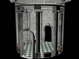 Renaissance-Based Interior Room Design by EmberRabbit