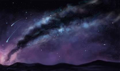 Starry Sky by EmberRabbit