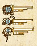 Steampunk HUD Design