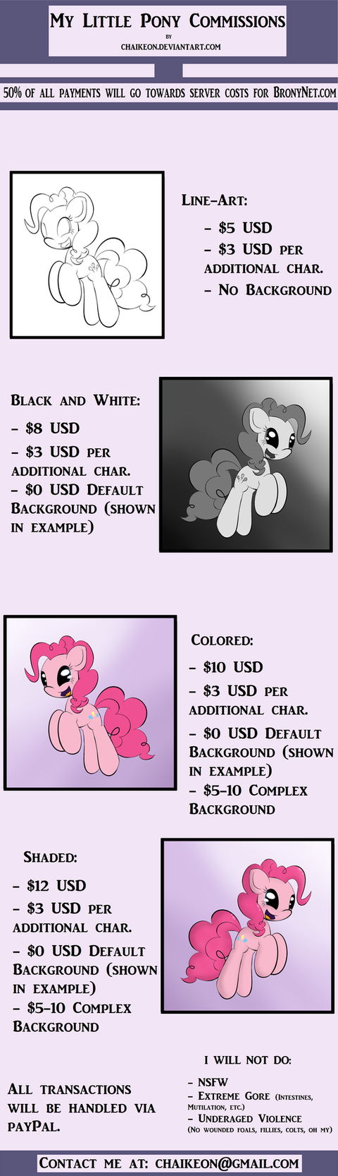 Taking MLP Commissions! by Chaikeon