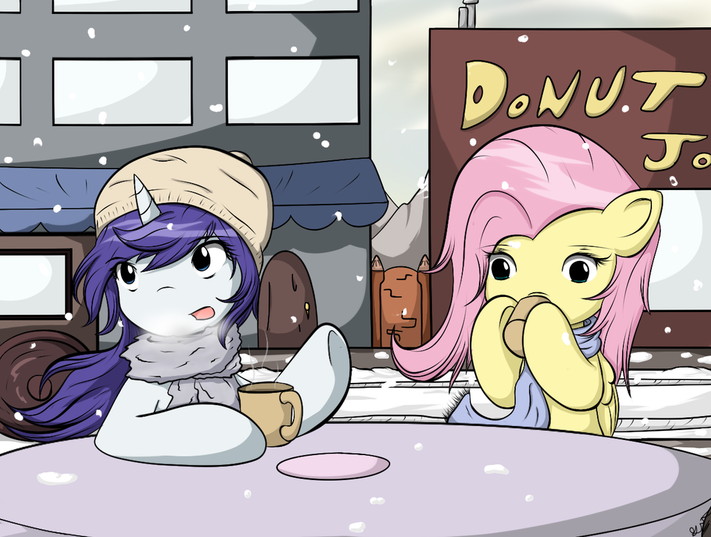 Winter Teatime by Chaikeon
