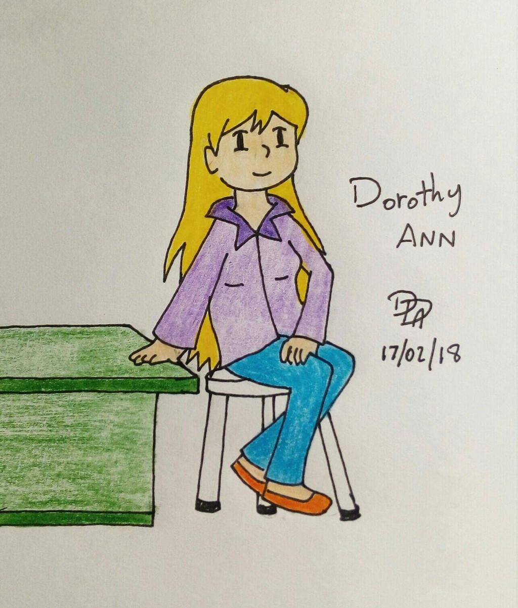 Feb'18 - Dorothy Ann -nick07208 by Sm-ArtThings