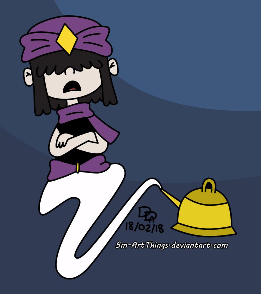 Feb'18 - genie lucy -aliencon by Sm-ArtThings