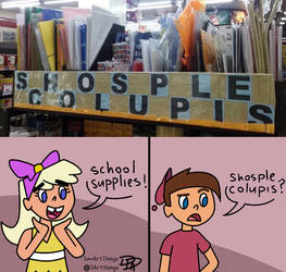 School Supplies by Sm-ArtThings