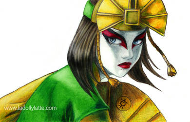 atla - avatar kyoshi by kamladolly