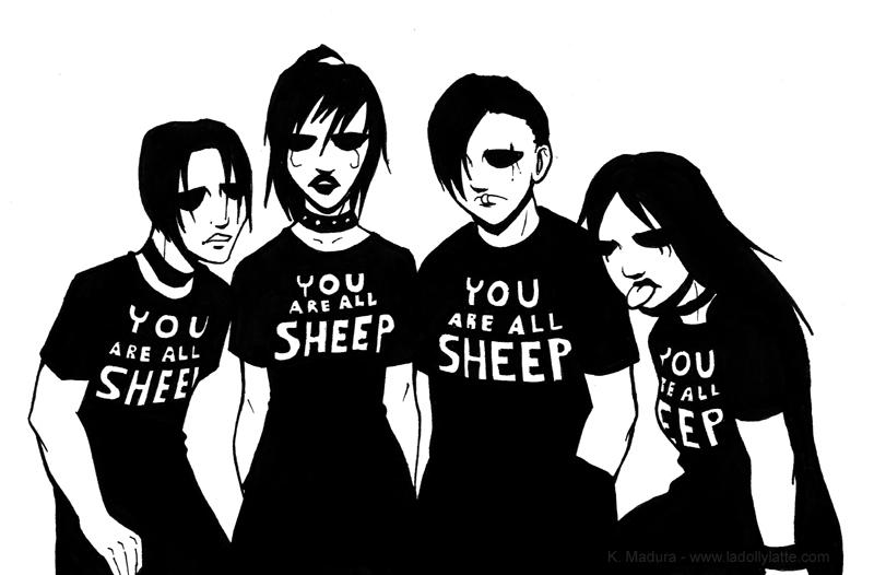 you are all sheep by kamladolly