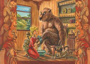 Goldy Locks And The Bear