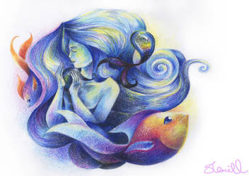 Sea Goddess by PrincessPacketJuice