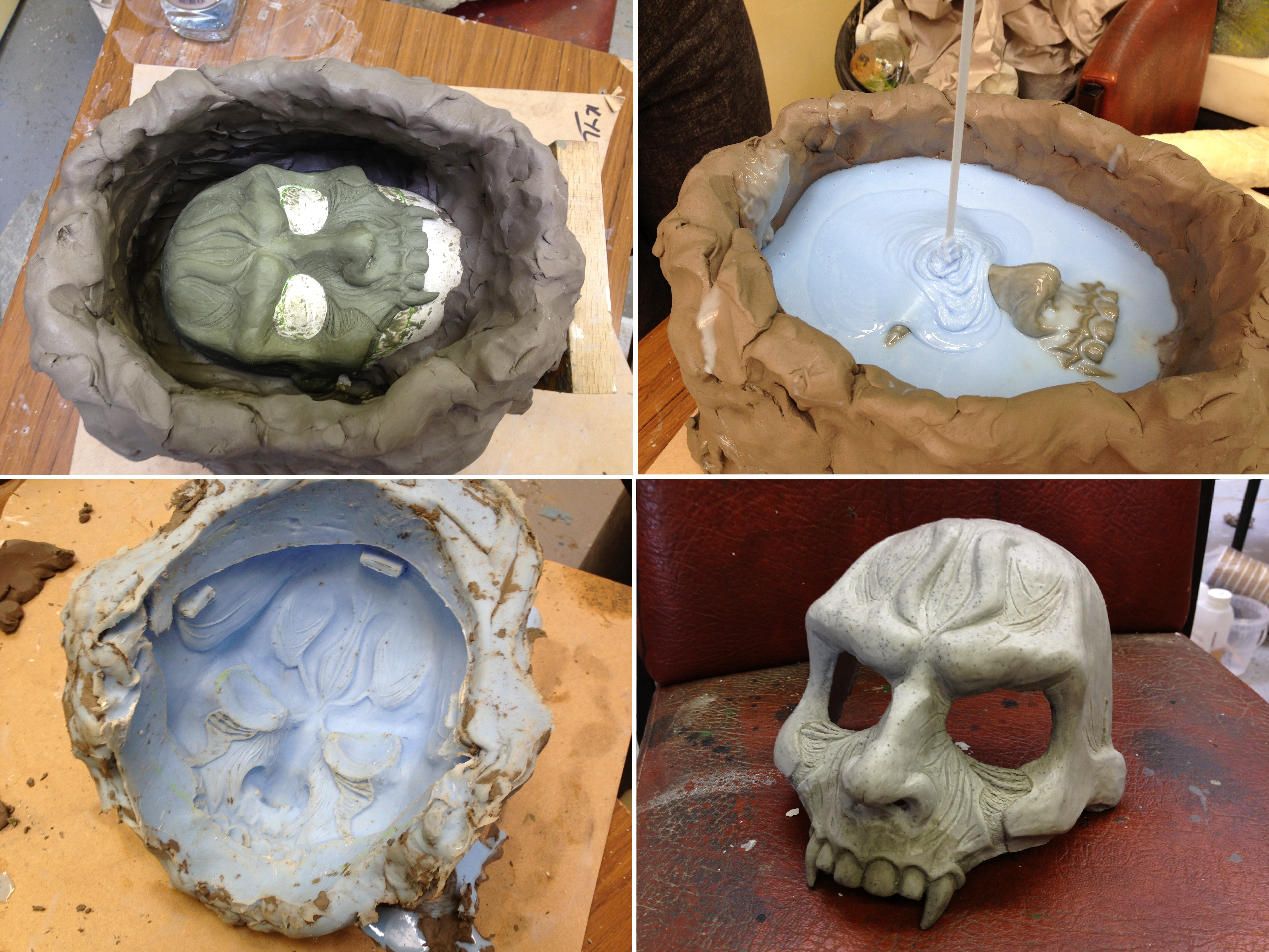 Raziel Face Sculpt - Moulding by SketchMcDraw