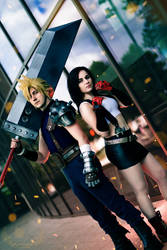 Cloud and Tifa (AmeCon 2018)