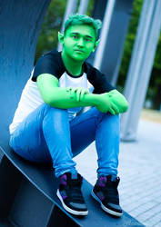 Casual Teen Titans - Beast Boy