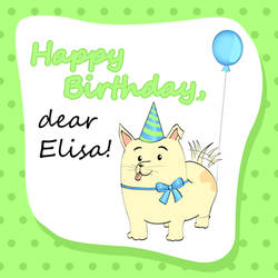 Party Dog for Elisa