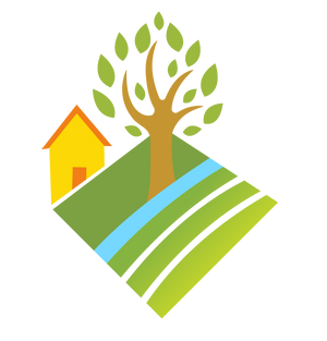 Backyards, Woods, and Farms Logo