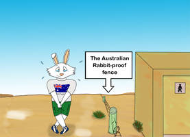 The Aussie rabbit-proof fence