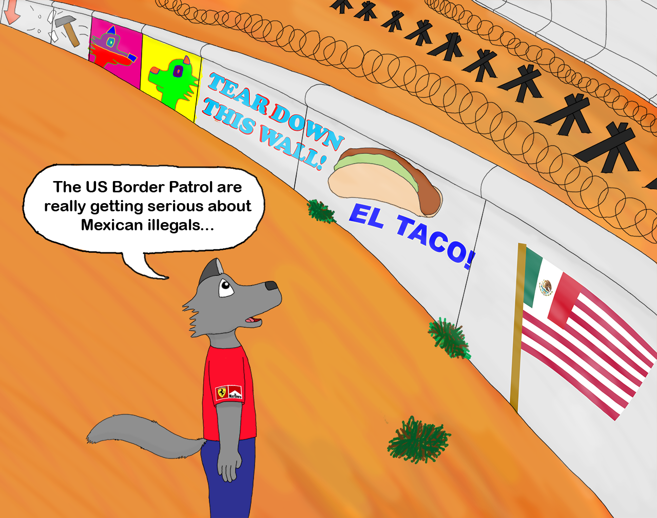 The Mexico Wall