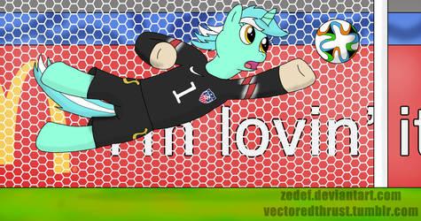 Lyra Heartstrings - USMNT World Cup Goalie by VectoredThrust
