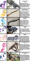 Mane Six (and more) go Gun Shopping! (updated)