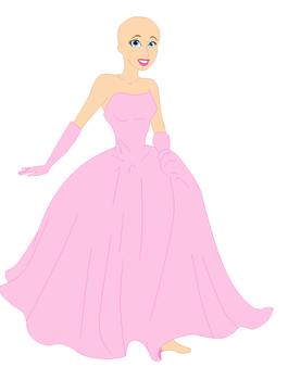 Disney princess dress base:pixel version