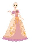 Rapunzel dress base 01