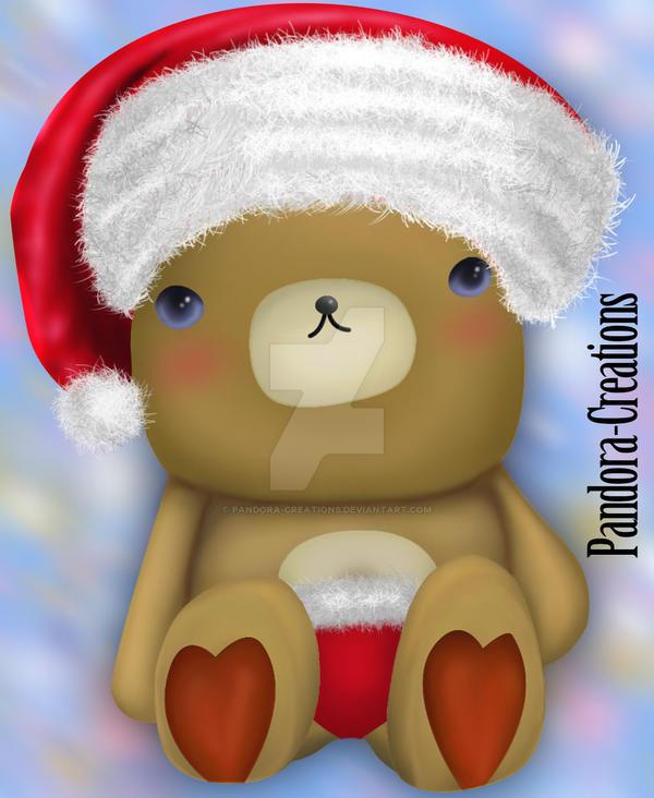 Little-Bear-Xmas DA Pandora-Creations by Pandora-Creations