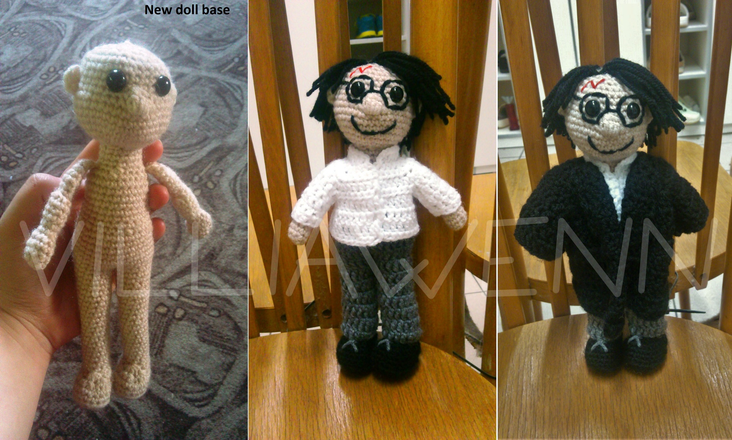 Amigurumi Harry Potter by Villiawenn on DeviantArt