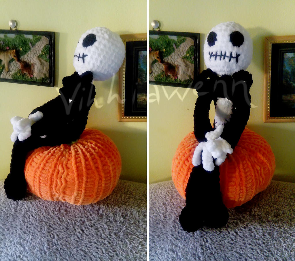 Jack Skellington - Crochet | 905x1024