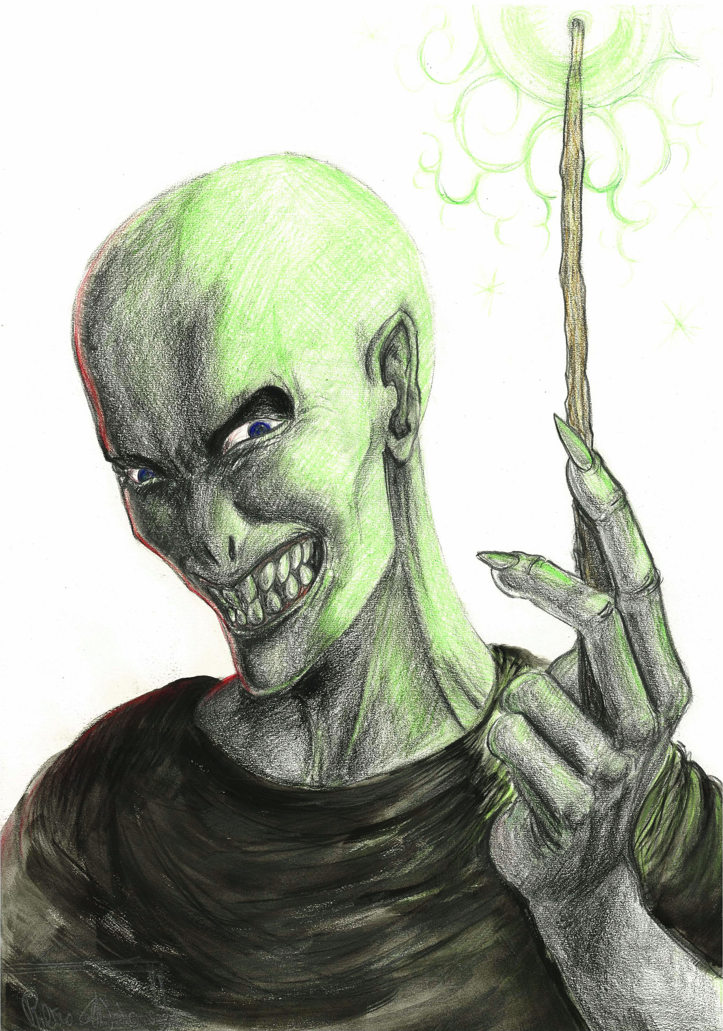 All hail Lord Voldemort by zobly