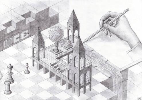 Tribut an MC Escher
