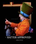 HATTER APPROVED.